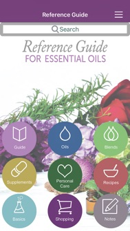 Ref Guide for Essential Oils iphone screenshot 1