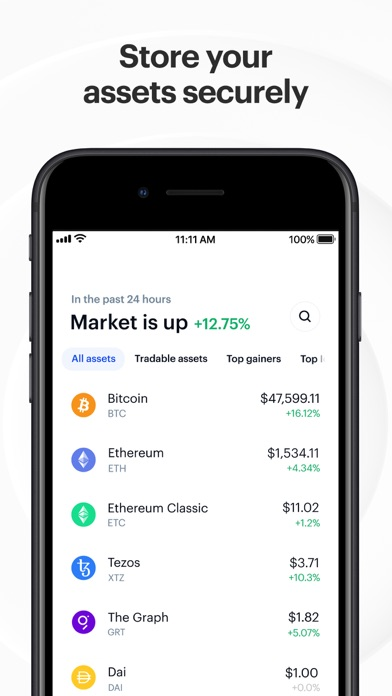 Coinbase – Buy & sell Bitcoin iphone screenshot 4
