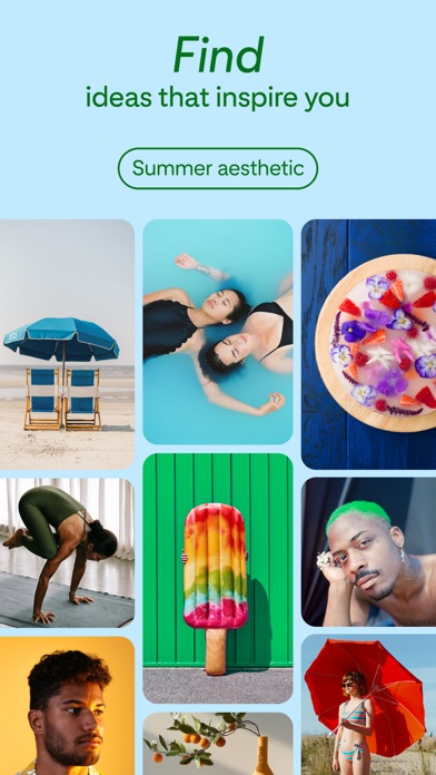 Pinterest iphone screenshot 2