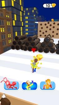 Super Hero Run 3D iphone screenshot 1