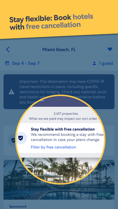 How to cancel & delete Expedia: Hotels, Flights & Car 0