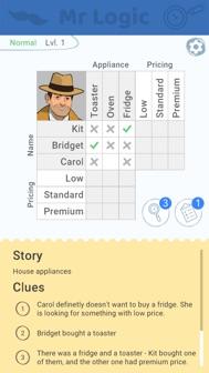 Mr Logic iphone screenshot 2