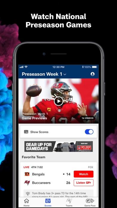 NFL iphone screenshot 3