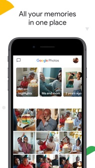 Google Photos iphone screenshot 1