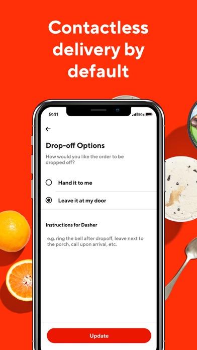 DoorDash - Food Delivery iphone screenshot 4