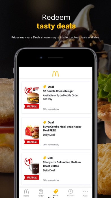McDonald's iphone screenshot 4