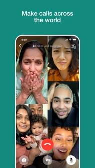 WhatsApp Messenger iphone screenshot 3