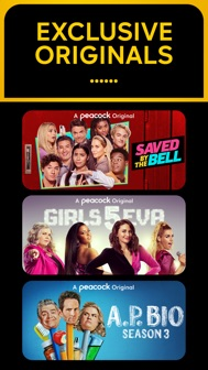 Peacock TV: Stream TV & Movies iphone screenshot 4