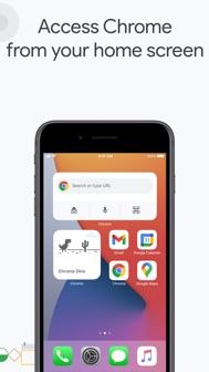 Google Chrome iphone screenshot 3