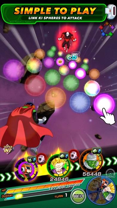 DRAGON BALL Z DOKKAN BATTLE iphone screenshot 2