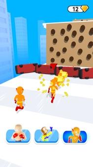 Super Hero Run 3D iphone screenshot 2