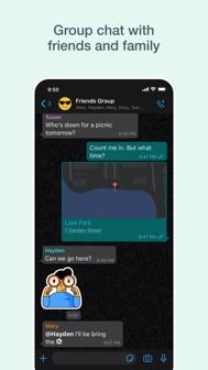 WhatsApp Messenger iphone screenshot 4