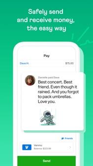 Venmo iphone screenshot 2