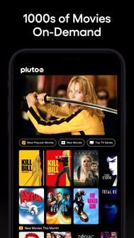 Pluto TV - Live TV and Movies iphone screenshot 2