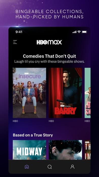 HBO Max: Stream TV & Movies iphone screenshot 4