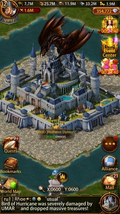 Evony iphone screenshot 3