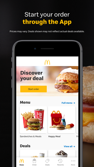 How to cancel & delete McDonald's 0