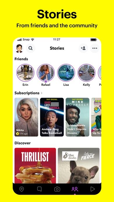 Snapchat iphone screenshot 4