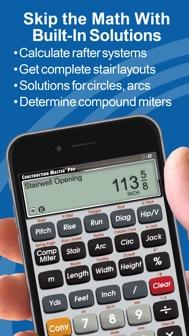 Construction Master Pro Calc iphone screenshot 4