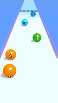 Ball Run 2048 iphone screenshot 1