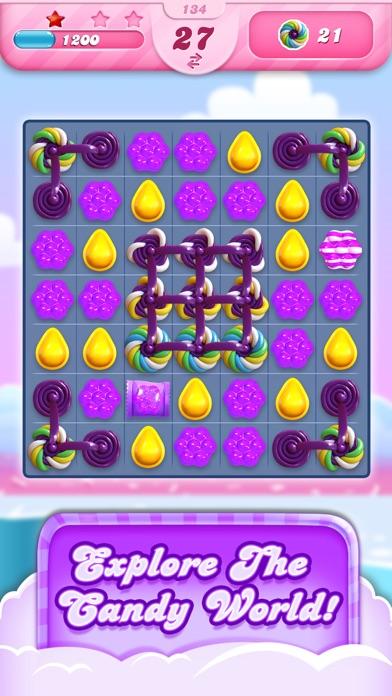 Candy Crush Saga iphone screenshot 1