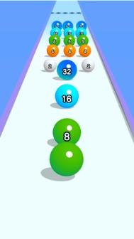 Ball Run 2048 iphone screenshot 2