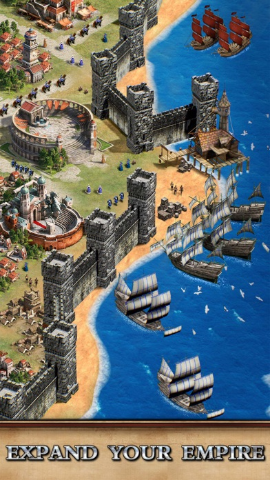 Rise of Empires: Fire and War iphone screenshot 3
