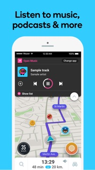 Waze Navigation & Live Traffic iphone screenshot 3