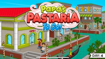 Papa's Pastaria To Go! iphone screenshot 1
