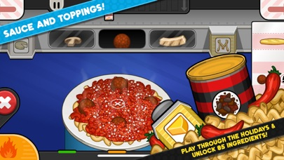Papa's Pastaria To Go! iphone screenshot 4