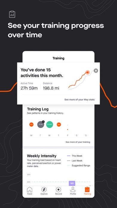 Strava: Run, Ride, Swim iphone screenshot 3