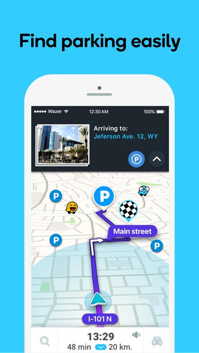 How to cancel & delete Waze Navigation & Live Traffic 1