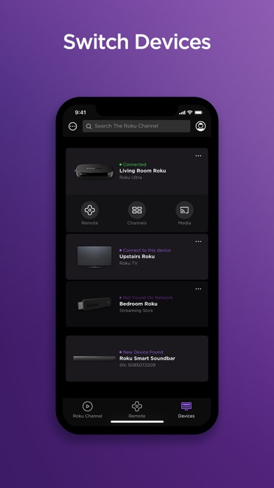 Roku - Official Remote Control iphone screenshot 2