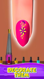 Nail Salon 3D iphone screenshot 3