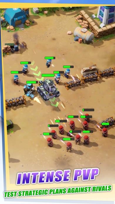Top War: Battle Game iphone screenshot 3