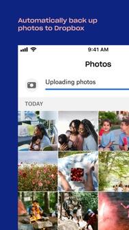 Dropbox: Cloud Storage, Backup iphone screenshot 3