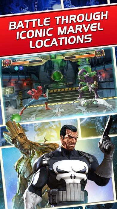 Marvel Contest of Champions iphone screenshot 4