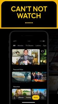 Peacock TV: Stream TV & Movies iphone screenshot 1