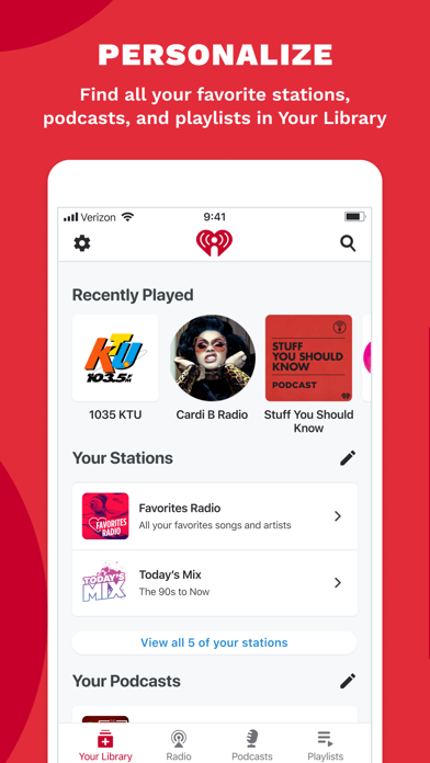 How to cancel & delete IHeart: Radio, Music, Podcasts 1