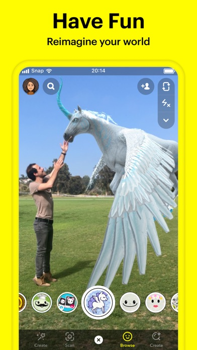 Snapchat iphone screenshot 3