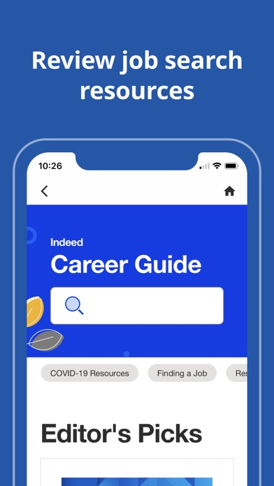 Indeed Job Search iphone screenshot 3