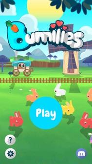 Bunniiies: The Love Rabbit iphone screenshot 1