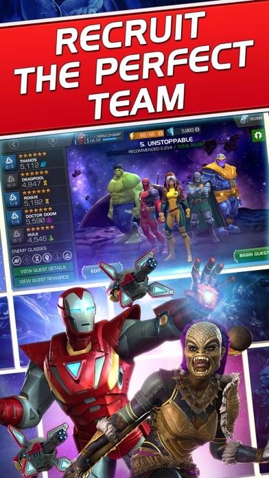 Marvel Contest of Champions iphone screenshot 1