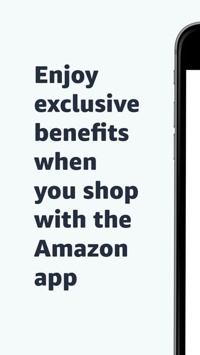 Amazon Shopping iphone screenshot 1