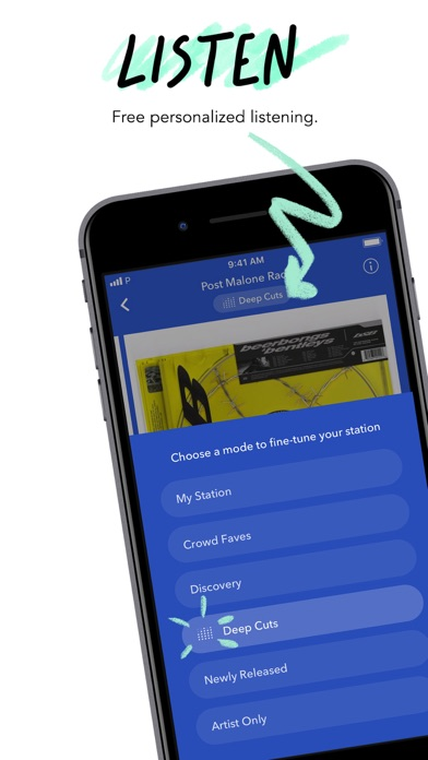 Pandora: Music & Podcasts iphone screenshot 1