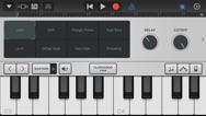 GarageBand iphone screenshot 2