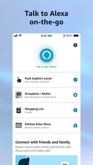 Amazon Alexa iphone screenshot 1