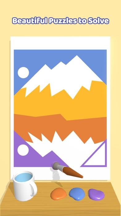 Paint Puzzle! iphone screenshot 4