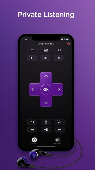 Roku - Official Remote Control iphone screenshot 4