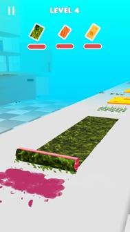 Sushi Roll 3D - ASMR Food Game iphone screenshot 2